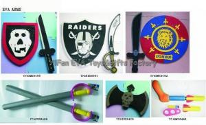 China EVA Toys / EVA Sword / EVA Shield / EVA Knife / Foam Sword/EVA Axe on sale