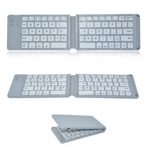 China Foldable Wireless Bluetooth Keyboard , Ultra Slim Bluetooth Keyboard on sale