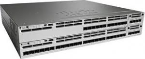 China WS-C3850-12XS-E 10gb Rj45 Switch , Cisco 12 Port 10gbe Sfp+ Switch Desktop Type on sale