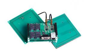 China Dual-interface Smart card reader Module, ISO7816 standard PSAM card, ISO14443-3-4 CPU card,4 SAM slot on sale