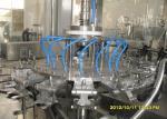 0.6MPa PLC Control PET Bottle Filler Machine For Hot Filling Production Line