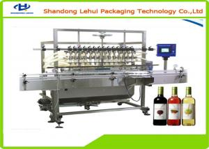 China Small Scale Bottle Filling Machine / Wine Bottle Filling Equipment Linear Structure on sale