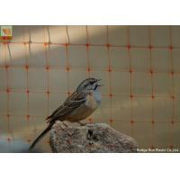 Garden Bird Proof Netting For Fruit Trees 15g/Sqm 2.5m Wide Orange Color