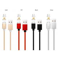 China Fast Charging USB Data Cable , 3 In 1 Magnetic Cable For Micro USB / Light - Ning / Type C on sale