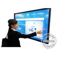 China 82 Inch Hotel Lcd Touch Screen Interactive Whiteboard Monitor Video Conference System Wifi Digital Signage on sale