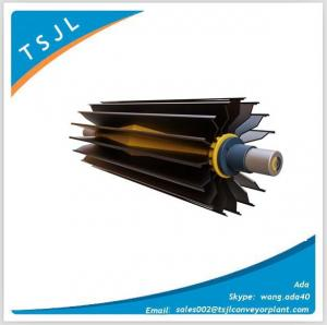 China Belt Conveyor Wing Pulley for Mining Harbor on sale