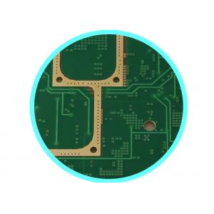 China Multilayer RF PCB High Frequency , Microwave F4B Pcb Board 0.38 MM ER = 2.2 on sale