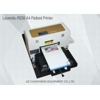 A4 Inkjet Small Format UV Flatbed Printer Curable Desktop For Soft Material