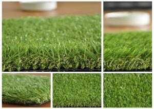China Outdoor PE Imitation Grass Green 35mm Height Artificial Turf Grass on sale