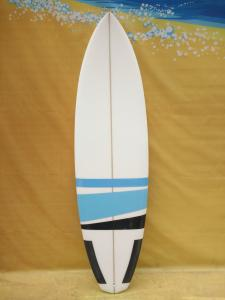 China Customized Epoxy Surfboards Innovation EPS Foam Surfboard Blue Airbrush Surfboards on sale