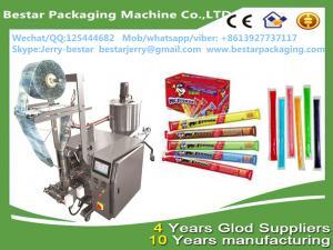 China stainless steel high quality ice lollipop packaing machine liquid frutis syrup packing machine bestar packaging machine on sale