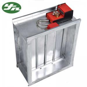 China Aluminum Clean Room Ventilation Air Volume Control Valve Air Diffuser Damper on sale