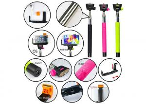 China Extension Handheld Telescopic selfie stick Monopod with Bluetooth for Mobile on sale