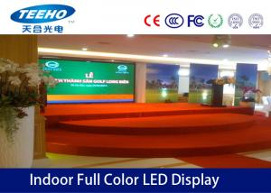 China Indoor p6 fixed installation Indoor Full Color LED Display for video function on sale