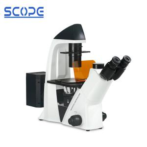 China Laboratory Inverted Fluorescence Microscope Long Work Distance Objective on sale