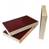 Brown Film Faced Plywood 8 - 12% Moisture Content Easy Work International Quality