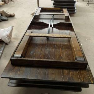... Quality Wholesale Supply Outdoor Pine Wood Farmhouse Folding Dining  Tables For Sale ...