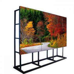 China Indoor Splicing LCD Video Wall Floor Standing Mount VGA / DVI / HDMI Input on sale