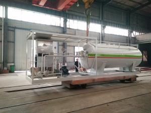 China 10000L Gas LPG Tank Customized For Mobile Petrol Gas Filling Station on sale