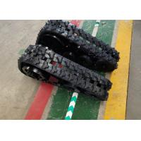 Snowmobile Vehicles Undercarriage Rubber Track Drive System 64.5kg Lxh-148