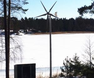3KW Wind Turbine On Grid Power System Low Wind Start Reduce