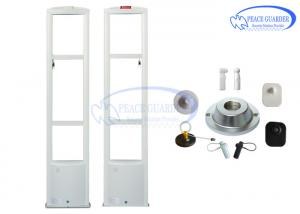 China Supermarket Aluminum Retail Security System With RF Tag Detection Door on sale