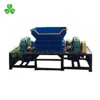 China Automatic Double Shaft Shredder Machine 6.3 Ton Weight Small Metal Shredder on sale