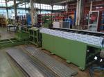 Industry Radiator Production Line , Radiator Tube Making Machine Long Seam Welding Unit