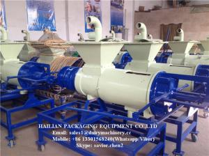 China Stainless Steel Manure Solid Liquid Separator For Farm With 4 CBM to 15 CBM Capacity on sale