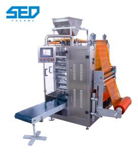 China Food Automatic Packing Machine Vertical Type For Four Side Sealed Granule Bagging on sale