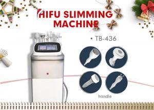 China Multifunction HIFU Slimming Machine / Cavitation Body Shaping Weight Loss Equipment on sale