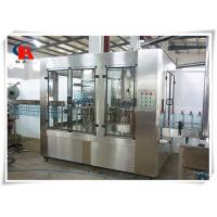Small Juice Automatic Liquid Filling Machine 380V 50Hz CIP Self Cleaning Interface