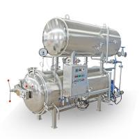 Double Layers Sterilization Canning Retort Machine For Canned Food