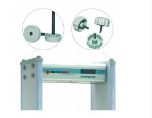 China Government Building Inspection Walk Through Detector , Multi Zone Door Frame Metal Detector on sale