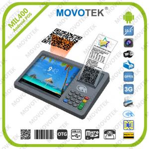 China Movotek Android RFID POS Terminal with Bar code Scanner, RFID Reader and Thermal Printer on sale