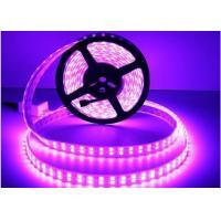 Flexible LED Strip Light 5050 RGB DC12V / DC24V Double Line 28.8W/M Power