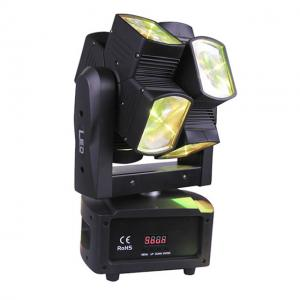 China Music Dance Double Wheel Rotation 10W LED Stage Light for Entertainments Party on sale