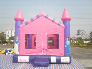 China Custom Home Toddler Inflatable Bouncy Castle , Party Jumping Castle on sale