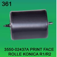 3550-02437A / 3550 02437A / 355002437A PRINT FACE ROLLER FOR KONICA R1,R2 minilab
