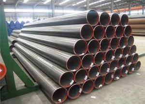 China Cold Rolled Oil Gas Water Seamless Steel Pipe With Black Painting Surface Treat on sale