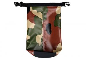 Quality Durable Camo Roll Top Dry Bag 5 Liter Digital Printing Hold Beach Products for sale