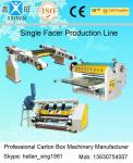 China Single Facer Line Shaft Corrugated Sheet Cutter Width 1600mm 0 - 100 m / Min wholesale