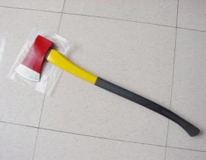 A601 3 5lb axe with fiberglass handle, 1045 carbon steel