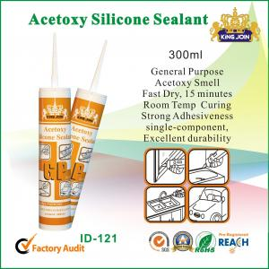 Quality Neutral Cure Acetoxy Silicone Sealant for sale
