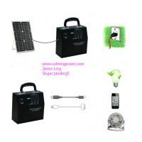 20Watt solar panel small home solar light  portable solar power system