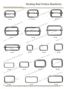China Slider Metal  Buckles on sale