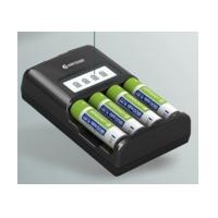 100 - 240V 500mA for 4 channel Reverse polarity protection Aaa NiMH Battery Charger