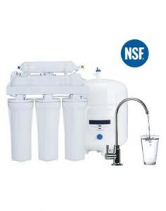 China NSF Reverse Osmosis Water Filter/5 Stage Water Purifier/RO Water Filter in White with Steel Tank on sale