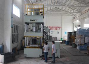 China 630 Ton Automatic Hydraulic Press Machine For Auto Parts Adjustable Pressing Speed on sale
