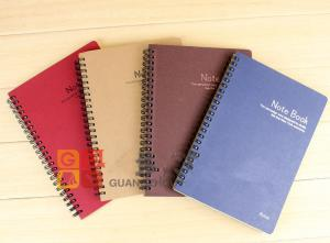 China wholesale spiral bound paper notebook on sale